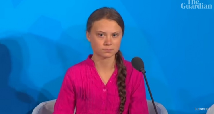 Greta Thunberg 2019 UN speech